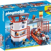 ¡¡Chollazo!! Estación guardacostas Playmobil por 27€. En Toysrus 74.99€