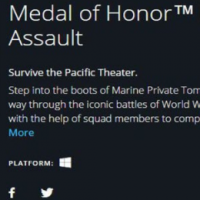 Consigue el ORIGIN Medal of Honor Pacific Assault GRATIS