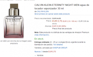 colonia clavin Klein eternity