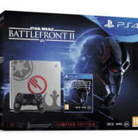 Pack PlayStation 4 Slim 1TB más Star Wars Battlefront 2 por 289€