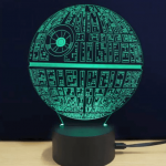 Lámpara LED Star Wars barata por tan sólo 4.56€ – chollazo en Rosegal