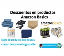 Selección de productos Amazon Basics TOP Ventas